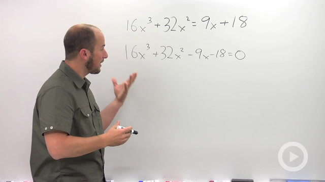 Solving by Factoring - Problem 1