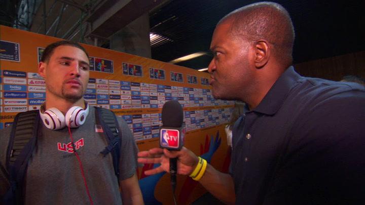 USA-Dominican Republic Post-Game: Klay Thompson