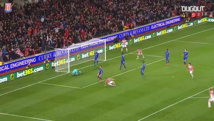 Stoke defeat defending champions Chelsea