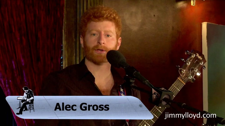 Alec Gross performs Zero Sum on The Jimmy Lloyd Songwriter Showcase