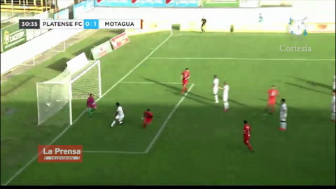 Video: Motagua golea 3-0 al Platense en Puerto Cortés