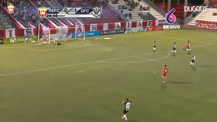 Carlos Chavarría's superb goal in the Clásico Nacional