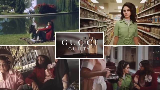 Lana Del Rey Teams Up With Jared Leto And Courtney Love For Gucci Guilty Campaign The Independent The Independent