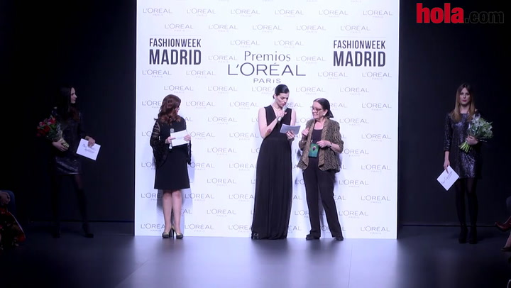 Premios L'Oréal: Juan Vidal y Blanca Padilla, los mejores de la 59ª edición de Fashion Week Madrid