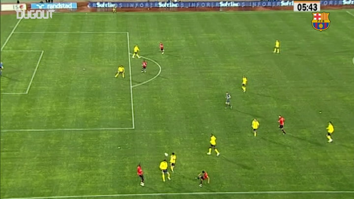 Pinto Earns Barça Hero Status