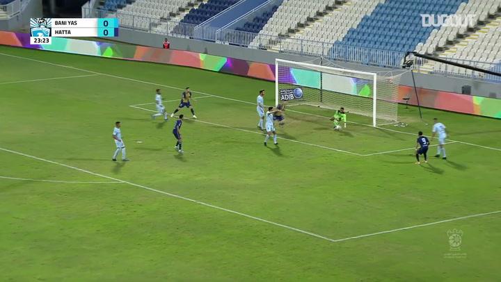 Arabian Gulf Cup: Baniyas SC 4-0 Hatta