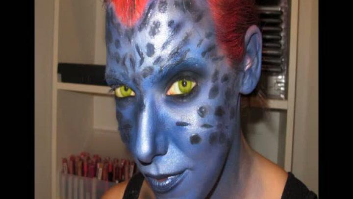 Halloween: Hvordan legge X-men-sminke