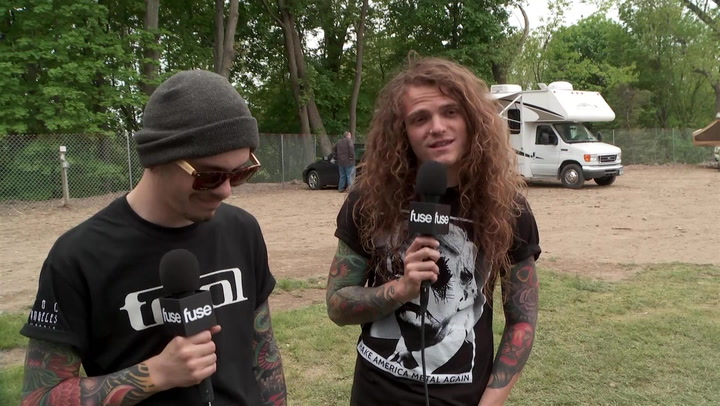 Miss May I Says Their First Show Is On YouTube, If You Can Find It
