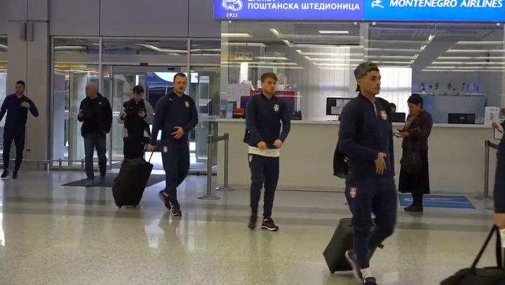 Jovic y la Selección Serbia viajan a Alemania