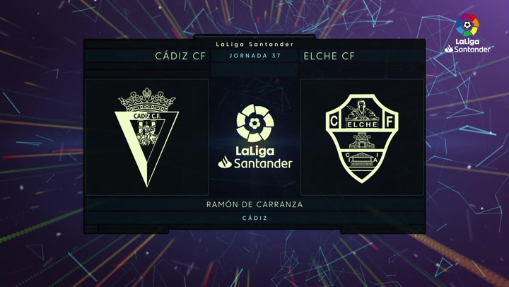 LaLiga Santander (J37): Resumen y goles del Cádiz 1-3 Elche