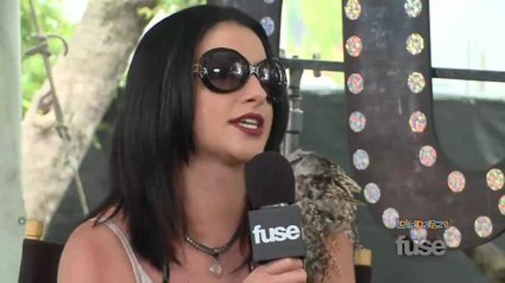 Festivals: Lollapalooza: Christina Perri Steps Away From the Chocolate Milkshakes - Lollapalooza 2011