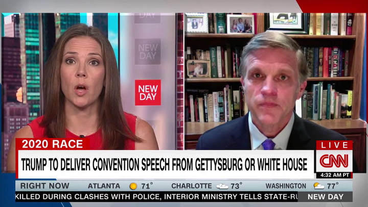 CNN's Hill: Trump Wants to Speak at Gettysburg as Part of Effort 'to Shore Up the Confederacy'