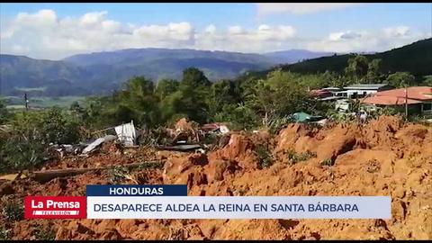 Desaparece aldea La Reina en Santa Bárbara