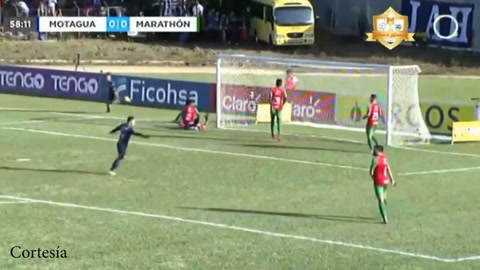 Argentino Gonzalo Klusenner anotó su primer gol con el Motagua