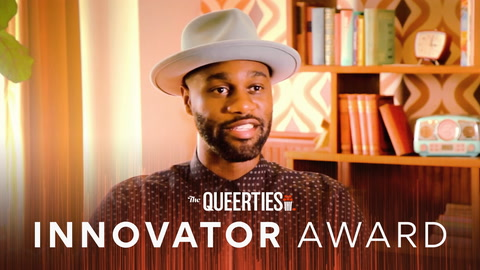 James Bland, The #Queerties INNOVATOR AWARD nominee