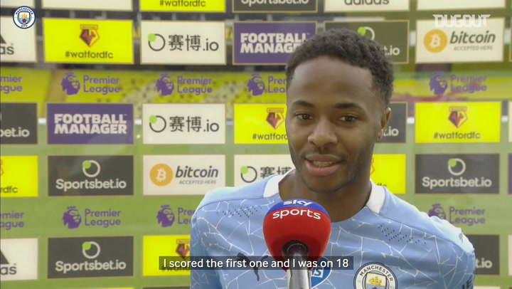 Sterling looks to hit 20-goal mark before season ends