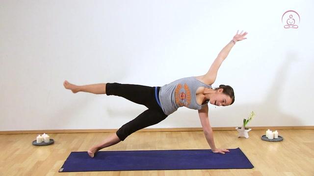 Spielerischer Yoga-Flow