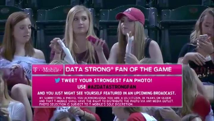 Sportcommentatoren spotten selfie-meisjes