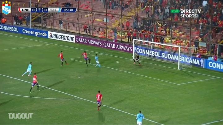 Christian Ortiz's long range masterclass in the Copa Sudamericana