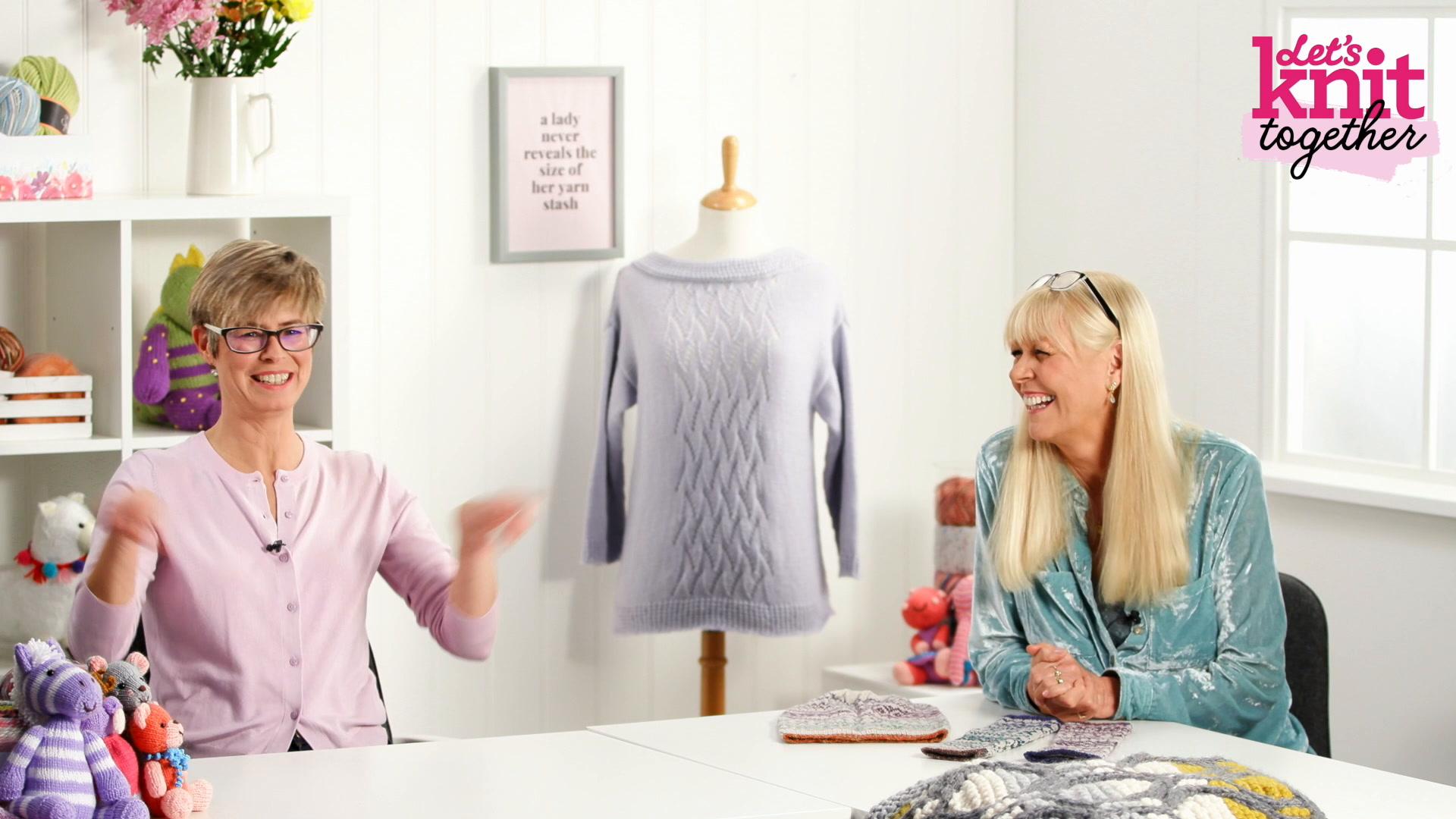 How to: work magic loop knitting