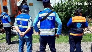 Rastra destruye casa y deja cuatro heridos en carretera al sur
