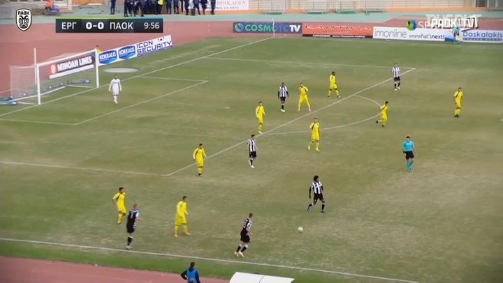 Greek Cup Highlights: Ergotelis 1-2 PAOK