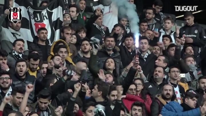 Sergen Yalcin Introduced to Besiktas Fans