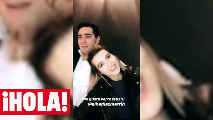 Alba Díaz celebra su cumpleaños