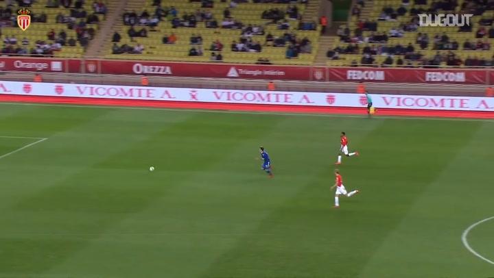 El doblete de Guido Carrillo en la remontada del AS Mónaco ante el Troyes