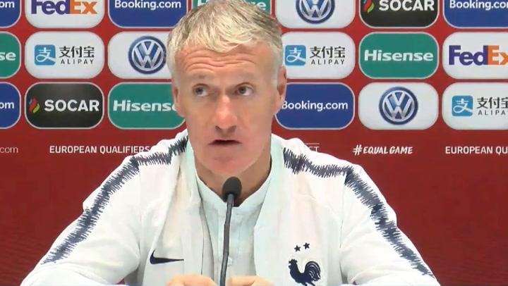 """Deschamps: """"Mendy jugará en el Madrid"""""""
