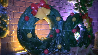 Ice Land: Rainforest Holiday at Moody Gardens