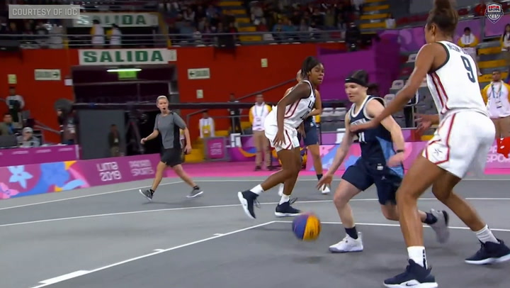 Highlights: USA Women's 3X3 Pan Am Games Medal Round