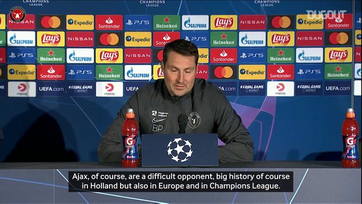 Brian Priske previews Ajax test