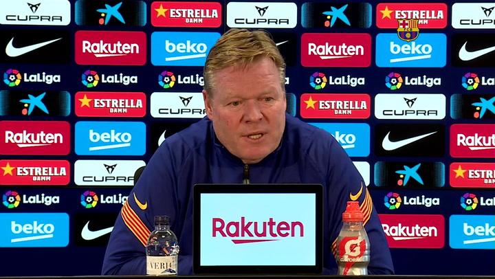 Koeman considera que Griezmann ha de aportar más gol al equipo