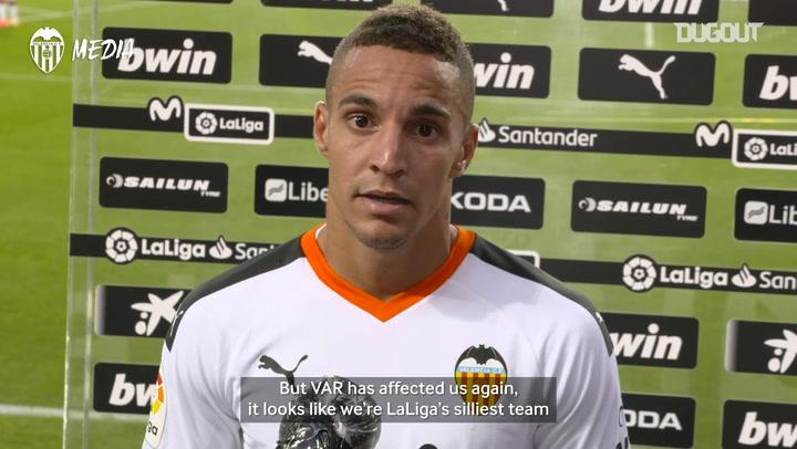 """Rodrigo Moreno: """"Valencia deserve more respect"""""""