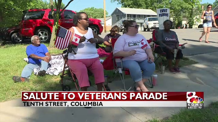 Hundreds gather in Columbia to honor veterans at annual parade