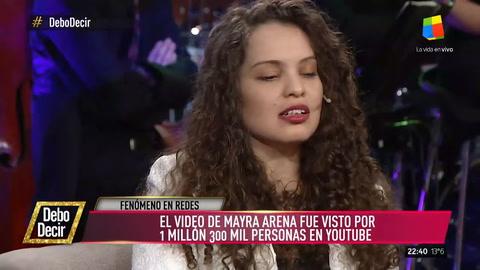 Mayra Arena, la joven éxito de la charla TED: Ser pobre es acostarse a dormir y soñar que comés