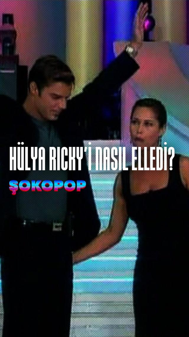 Şokopop - Hülya Ricky'i nasıl elledi?