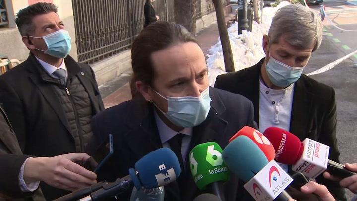 Iglesias mantiene que Puigdemont es exiliado