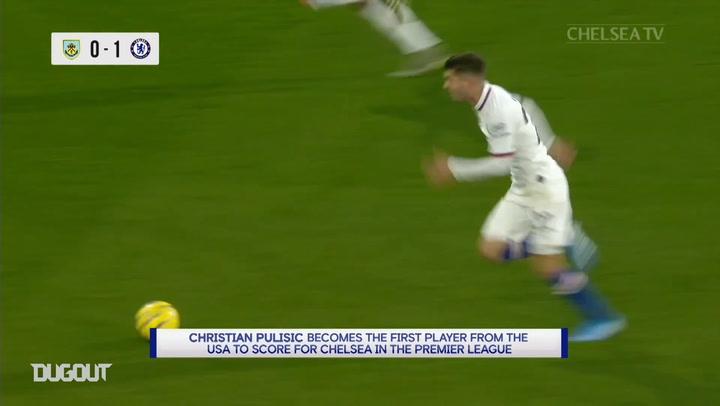 El hat-trick de Pulisic ante el Burnley