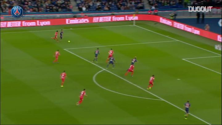 Kylian Mbappé's brace against Nîmes
