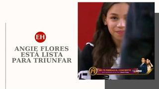 La hondureña Angie Flores está lista para triunfar