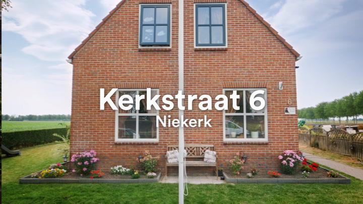 Kerkstraat 6 in Niekerk: Binnenkijken bij Willem en Anja