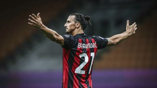 Salto a los cielos y golazo de cabeza de Zlatan Ibrahimovic ante Bolonia en el estreno del Milan en la Serie A