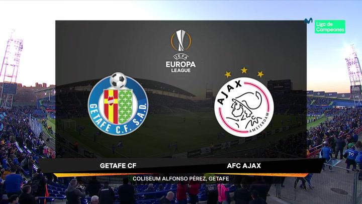 Europa League: Resumen y Goles del Getafe - Ajax