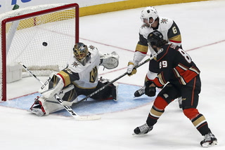 Golden Edge: Golden Knights Win Against Ducks
