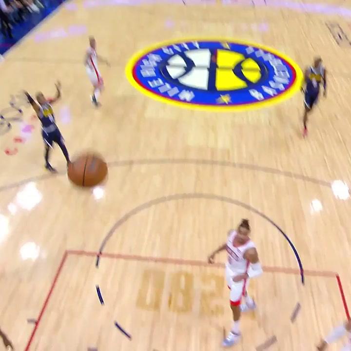 La actuación de Juancho Hernangomez ante Houston Rockets