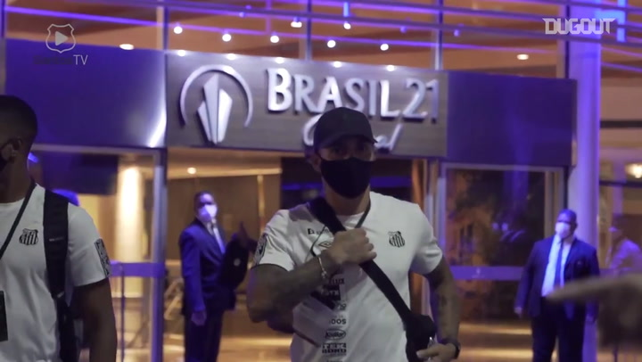 Behind the scenes of Santos' qualified at 2021 Libertadores