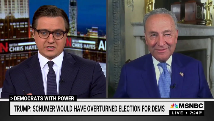 Schumer: Dems Won't Sacrifice 'Bold, Progressive Change' Just to Work with GOP