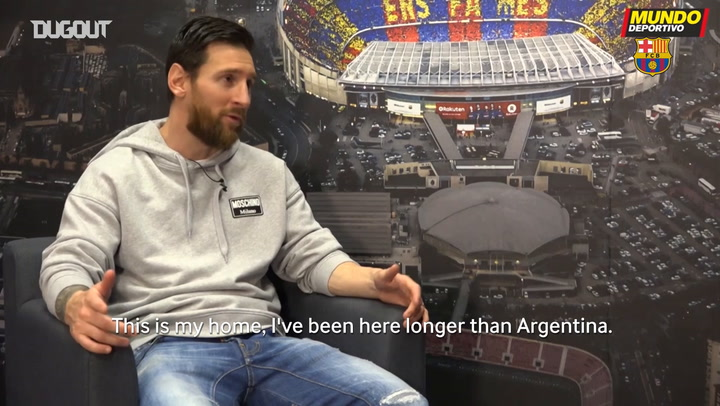 Leo Messi: 'I want to continue winning LaLiga and I always aspire to that'